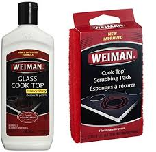weiman cook top scrubbing pads with