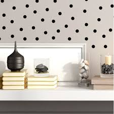 Black Dot Stickers Ambiance Live Touch Of Modern