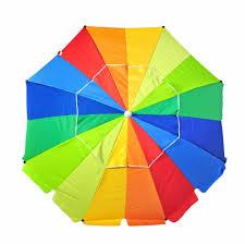 beach umbrella with fiberglass ribs