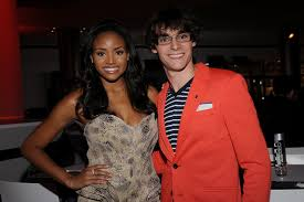 RJ Mitte (Walter Jr.) and his girlfriend. All I can really say is, w-well  d-done, b-b-buddy : breakingbad