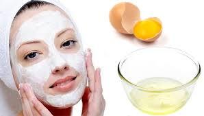 Yumurta Beyazı İle Kuru, Normal ve Yağlı Ciltler İçin Yüz ...