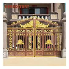 Customized Residential Modern Metal Retractable Folding Gates And Steel Fence Aluminum Gate Design Buy Steel Gates Grill Design Moderncast Aluminum Gates Design Philippines Gates And Fences Product On Alibaba Com