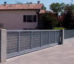 Sliding Gate Classic Libra Industriale Steel Wire Mesh Commercial