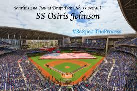 2018 MLB Draft: Scouting report, highlights of Marlins Osiris Johnson -  Fish Stripes