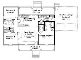malaga single story home house plans
