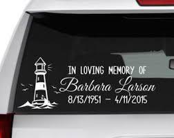 In Memory Of Grandma Memory Car Decal In Loving Memory Memorial For Mom In Memory Of Mom Memorial Car Decal In In Memory Of Dad Memories Car Decals