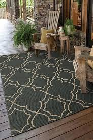 casablanca teal outdoor rug rugs