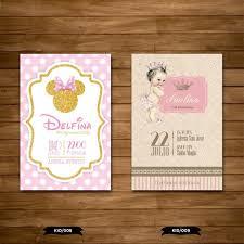 30 Tarjetas Invitaciones Bautismo 1 Anito Infantiles 450 00 En