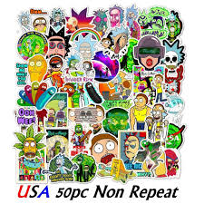 Rick And Morty Portal Vinyl Wall Decal For Sale Online Ebay