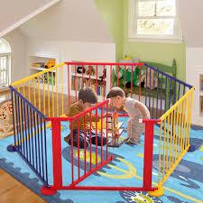 Tobbi Baby Playpen 6 Panel Playard Portable Wood Kids Safety Play Center Home Indoor Outdoor Fence Walmart Com Walmart Com