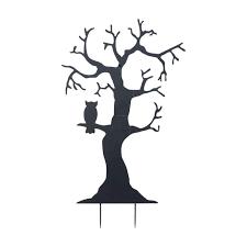 Gil Spooky Tree Silhouette Yard Stake Hayneedle