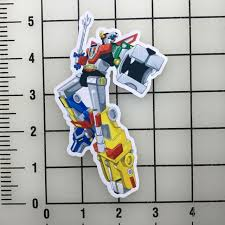 Voltron Force 5 Tall Vinyl Decal Sticker Bogo For Sale Online Ebay