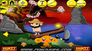 Game Chú khỉ buồn: Tìm Ninja - Monkey Go Happy Ninjas - Game Vui