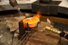 metal melting and pouring life of a