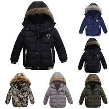 Áo khoác thời trang giữ ấm mùa đông cho bé trai