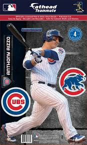 Fathead Chicago Cubs Anthony Rizzo Teammate Wall Decal Dick S Sporting Goods