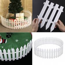 30 50pcs Picket Fence Garden Fencing Lawn Edging Home Yard Christmas Tree Fence Wish
