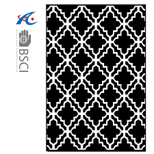 eco friendly outdoor rug woven from