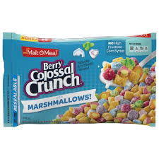 malt o meal berry colossal crunch