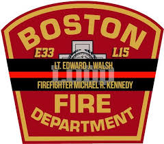 Boston Lt Walsh Ff Kennedy Lodd Memorial Window Decal Police Fire Ems Viny Graphics Stickers Decals Dkedecals