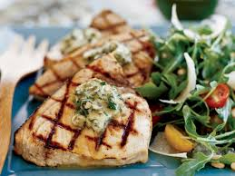 Grilled Swordfish Steaks with Basil ...