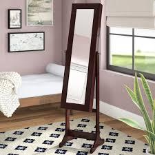 mirror floor stand wayfair