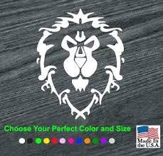 Alliance World Of Warcraft Window Decal Sticker Custom Sticker Shop