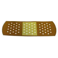 Jumbo Car Band Aid Bandage Auto Magnet Novelty Car Decal Measures 17 X 5 Walmart Com Walmart Com