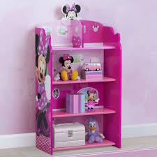 Delta Children Disney Minnie Mouse Wooden Playhouse 39 5 Bookcase Reviews Wayfair