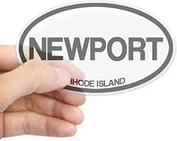 Amazon Com Cafepress Newport Rhode Island Oval Bumper Sticker Euro Oval Car Decal Home Kitchen
