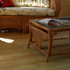 conservatory table cane coffee table