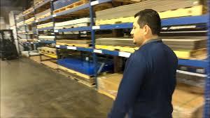 lean improvements warehouse tour