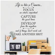 Life Is Like A Camera Focus On What S Important Capture Etsy