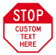 Stop Sign Decal Stop Sign Sticker Dornbos Sign And Safety