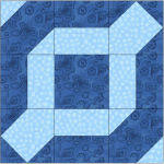 Free Chain Link Quilt Block Pattern