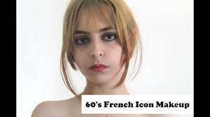 60 s french icon inspired makeup look