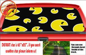 W1346 Many Pac Man Pacman Car Truck Van Decal Sticker Wrap Rear Window Perforate Ebay
