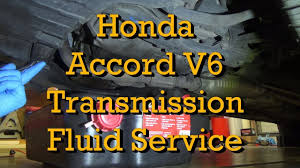 honda accord v6 automatic transmission