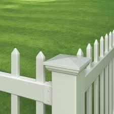 Outdoor Essentials Vinyl New England Fence Post Cap Wayfair