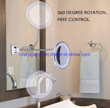 5x or 10x suction wall mounted