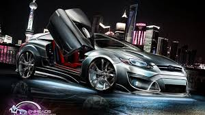 cars wallpapers 3d focus coupe
