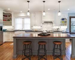 height of the kitchen island lighting
