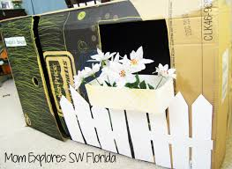 Cardboard Box Playhouse Mom Explores Southwest Florida