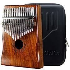 moozica 17 keys kalimba marimba