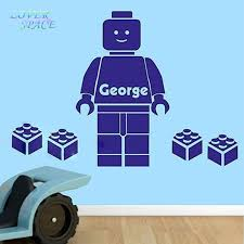 Cartoon Wall Decals 3d Lego Wall Sticker For Kids Room Personalized Name Bedroom Wall Art Home Decor You Choose Name And Color Wall Decals 3d Decal 3dsticker For Kids Room Aliexpress