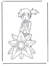 Pokemon Misty Kleurplaat Pokemon
