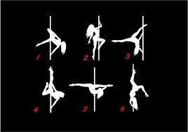 Pole Dancer Decals Custom Vinyl Car Truck Window Sticker Truck Window Stickers Custom Vinyl Window Stickers