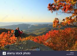 Bear Fence Mountain Appalachian Trail Shenandoah National Park Stock Photo Alamy