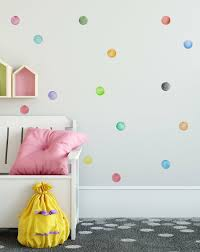 Isabelle Max Watercolor Little Circles Polka Dots Wall Decal Wayfair