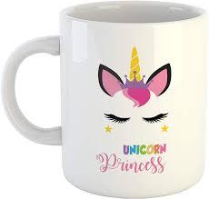 buy aj prints unicorn prineess mug quotes printed cute baby girl
